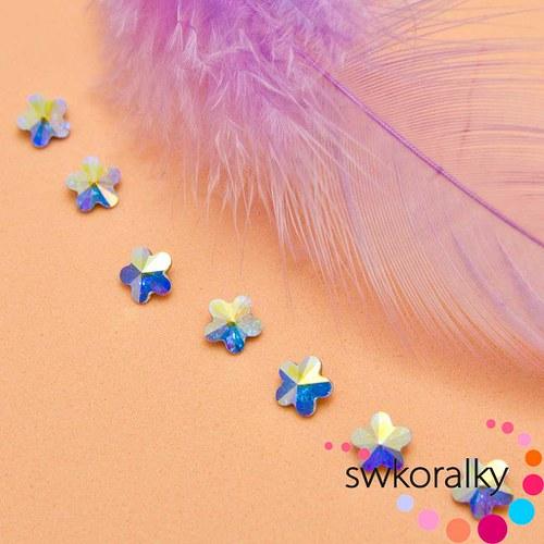 Kytička 6 SWAROVSKI ® ELEMENTS - crystal AB
