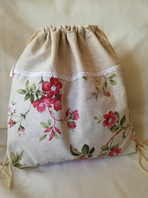 športový batoh kvety
