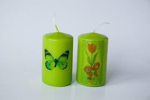 Sada jarních svíček