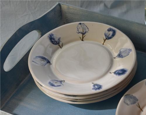 Dezertní talířek Květy