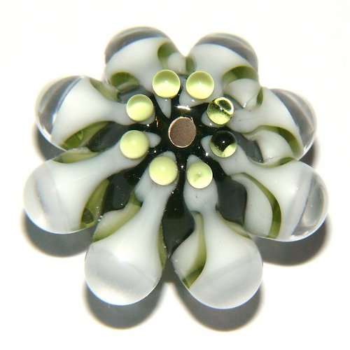 Vinutá perle - EXKLUZIV - olivín