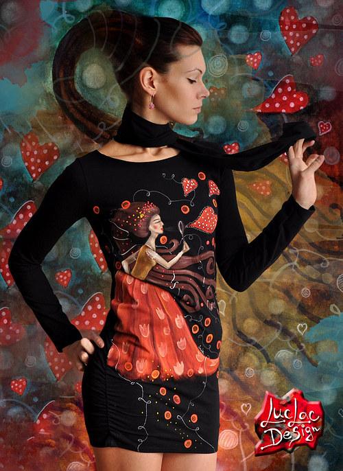 Šaty Srdcofukové - limitované !!!