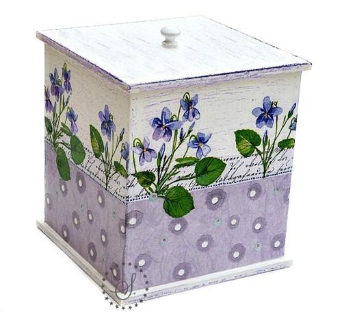 krabička - dóza s víkem