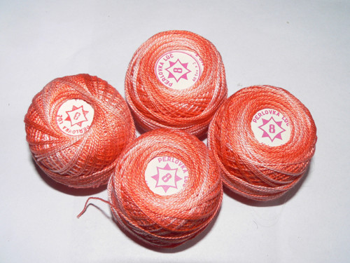 Perlovka oranžový melír