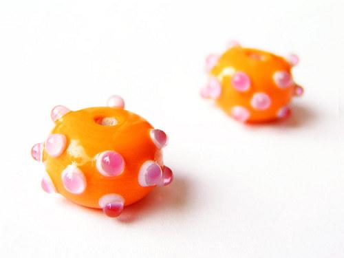 Oranžový ježek ((V160))