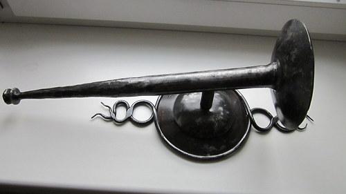 kovaná louč