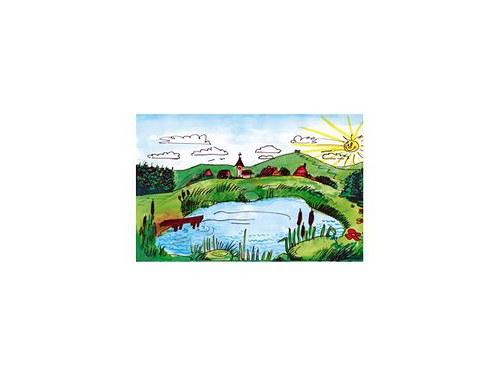Kulisa K7 Pri rybníku