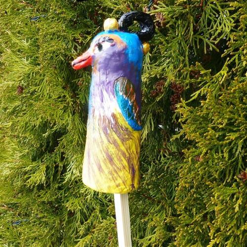 Pták Ohnívák - zápich