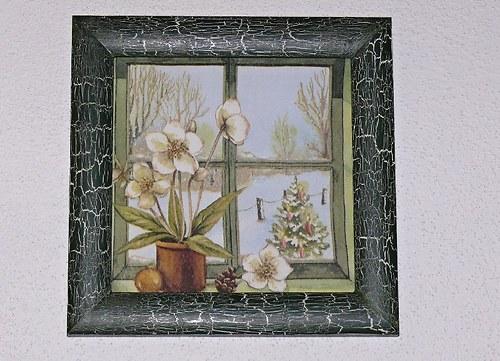 Obrázek Zimní okno