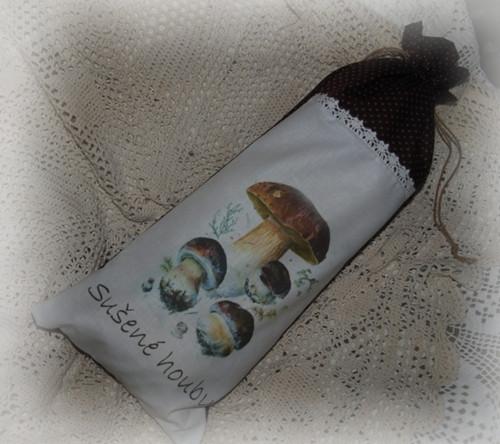 Pytlík na sušené houby