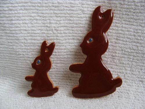 """velikonoční zajíček \""""čokoládový\"""""""