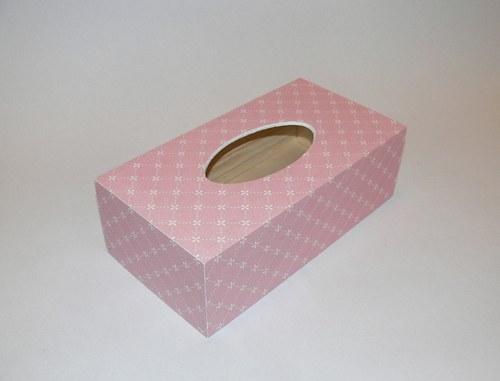 Krabička na kapesníčky - růžová