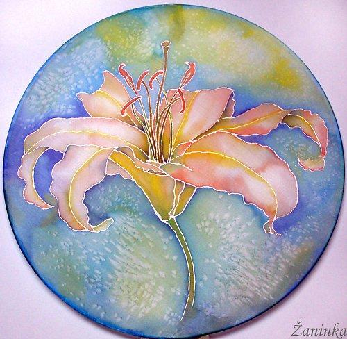 Květ lilie 30cm - POZOR NYNÍ SLEVA z 344kč