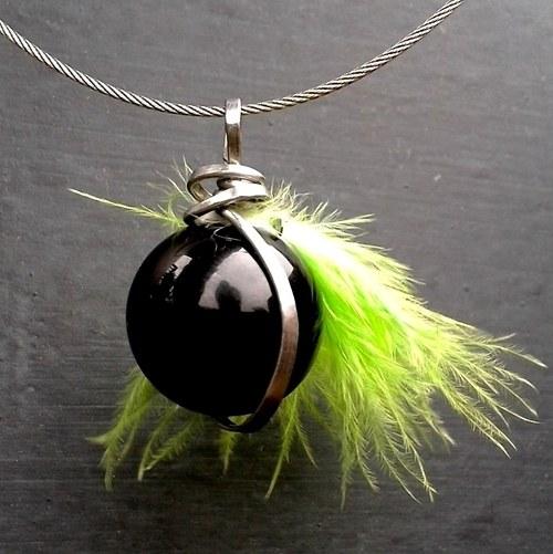 Náhrdelník - Věčně zelená