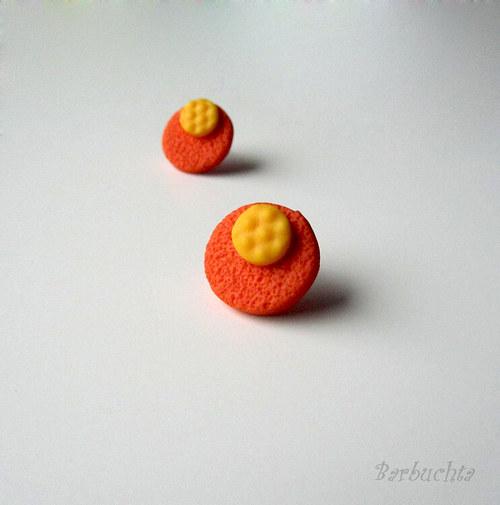 Oranžovožluté textury