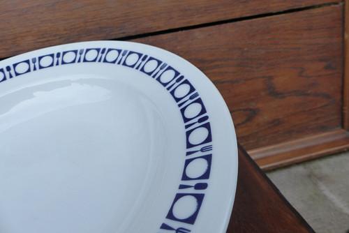 K obědu...porcelánový talíř, hluboký