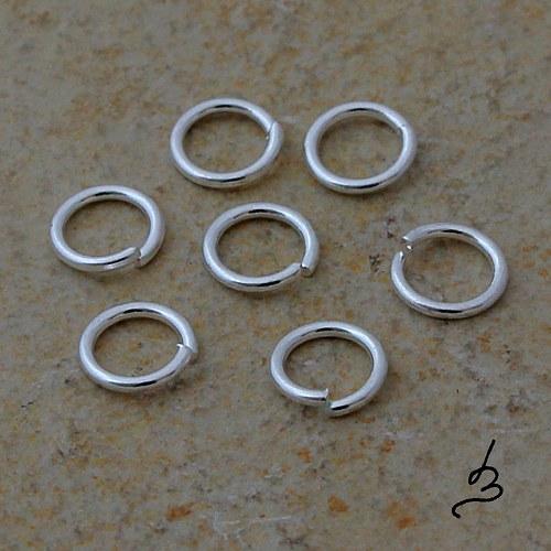 Spojovací kroužky ST 5/0,6 mm, 50 ks VÝPRODEJ