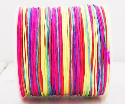 20m 65 22yrd Multicolor Nylon Kabel Makramé Vlákno