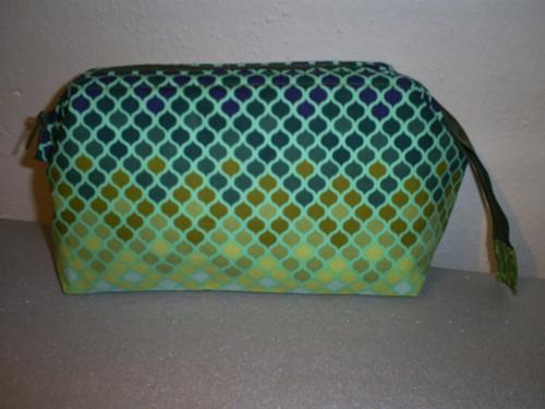Rámečková taštička - zelená