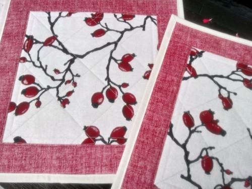 Podzimní prostírání se šípky č. 1: 35 x 35 cm