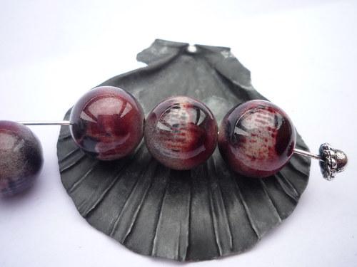 akrylové korálky 4 ks 12 mm