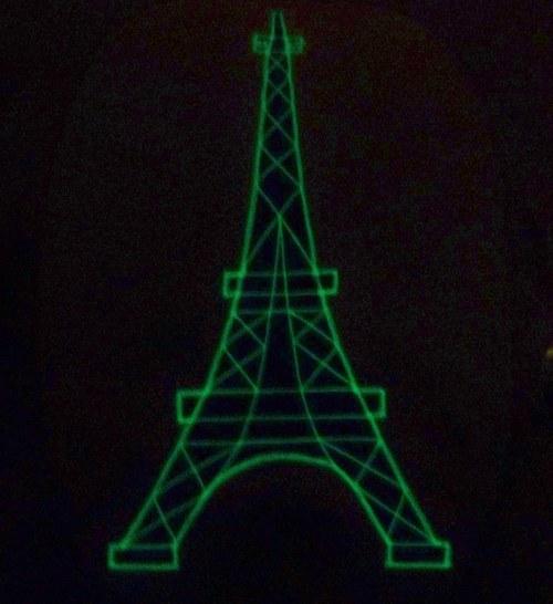 Ve tři pod Eiffelovkou - SVÍTÍCÍ muchlánek ♥