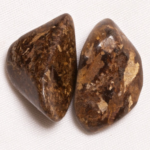 Bronzit - pár, 21 mm