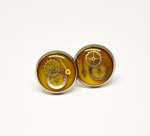 Náušnice 1,2 cm - chir. ocel