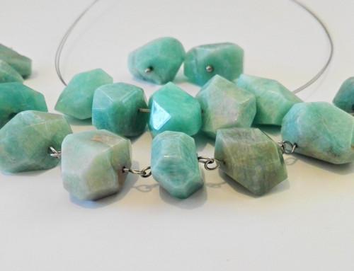 Amazonit - náhrdelník