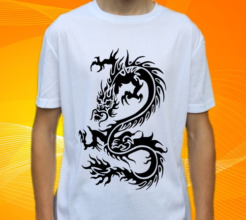 Tričko s drakem , drak , dragons č. 92