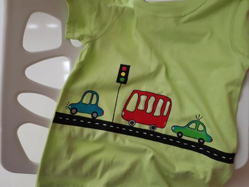 pískací tričko v.110 - semafor