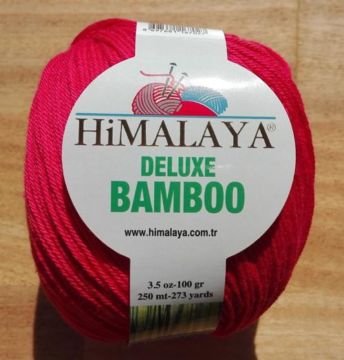 Deluxe Bamboo odstín 124-10 červená