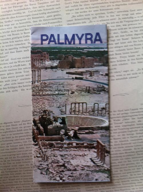 turistický leták PALMYRA