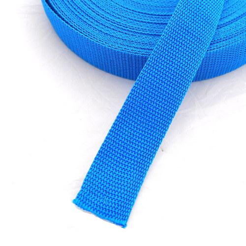 Popruh POP 1,5 cm - modrá světlá