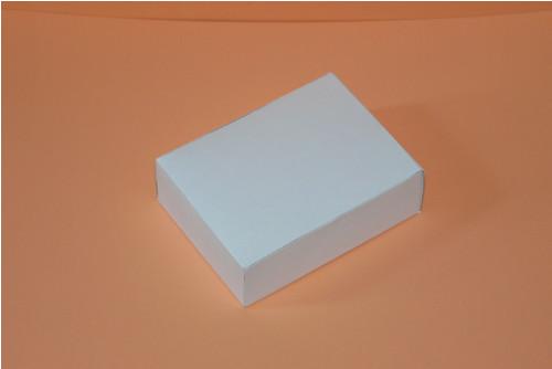 Krabička bílá s chlopněmi