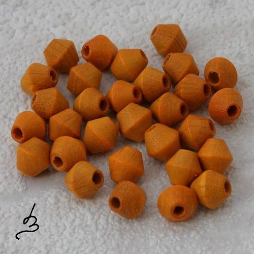 Dřevěné SV oranžové 6/6 mm - bal. 30 ks
