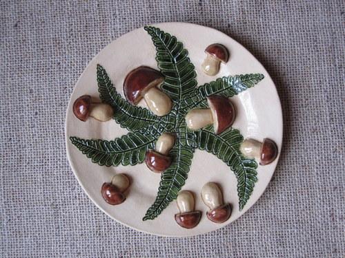 miska s houbičkama
