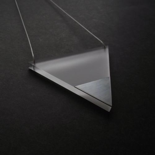 pure // steel // triangle