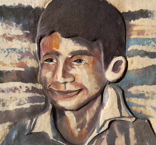 Vyřezávaný portrét do dřeva - dle Vaši fotografie
