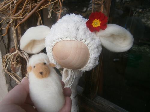Dvě malé ovečky....