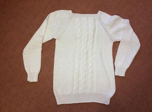 Dámský svetr bavlna
