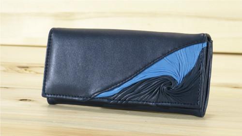 Kožená dámská peněženka - Belleza
