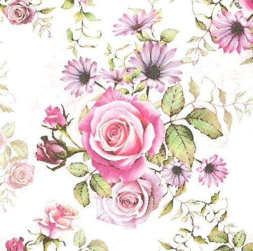 Ubrousek - růže MADELINE (20 ks)