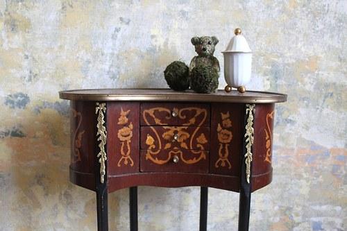 konzolový stolek - biedermaier