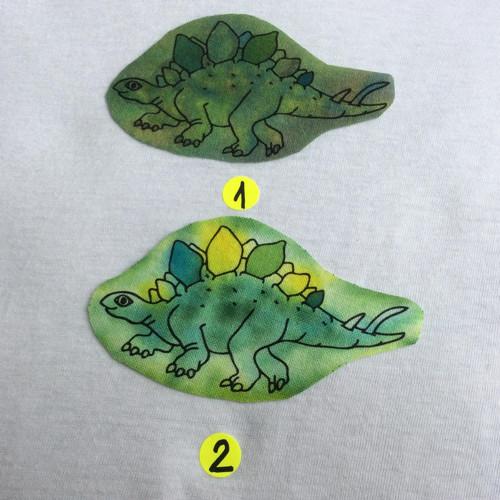 Nažehlovací obrázky - Stegosaurus