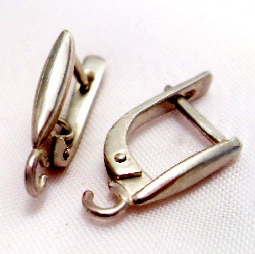 Stříbrné náušnice, Ag 925/1000 (cena za 1 par)
