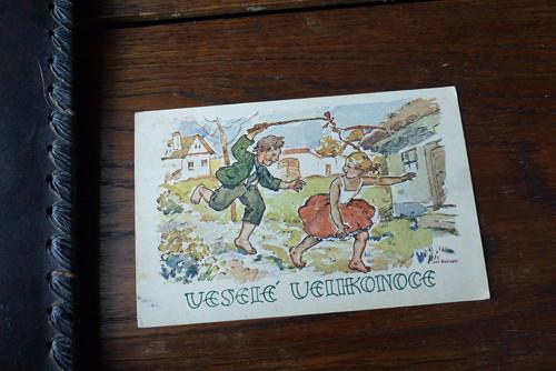 Veselé Velikonoce...pohlednice, 1930