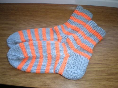 dětské pruhované ponožky