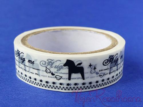 Dekorační páska s koníkem