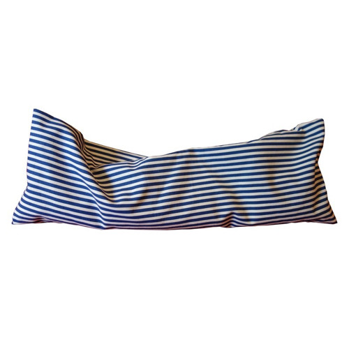Nahřívací polštářek modré pruhy